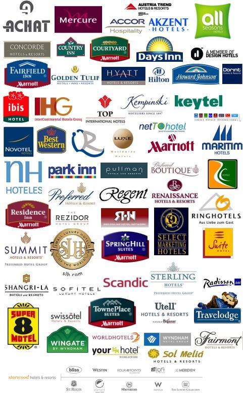 major hotel brands