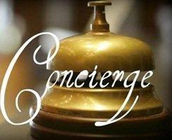 Concierge service in hotel