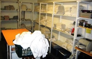hotel linen room housekeeping