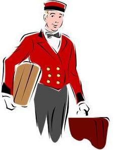 bell boy captain hotel