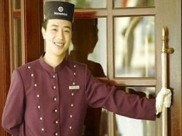 job doorman porter hotel