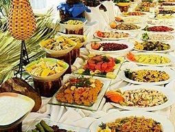 buffet style service