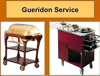 gueridon service