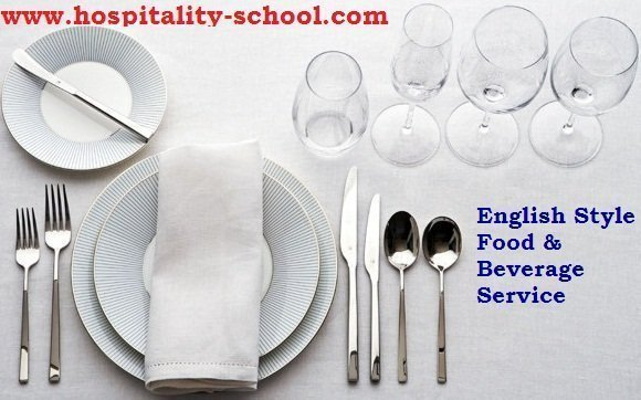 English Food Beverage Service Table Setting ...  sc 1 st  Hospitality School & Ultimate Guide to English Food u0026 Beverage Service Style