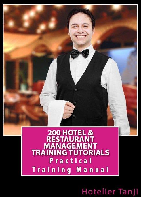 Hotel & Restaurant Management Training Manuals