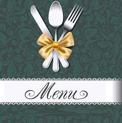 Sample Restaurant Menu