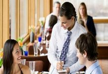 waiter job description