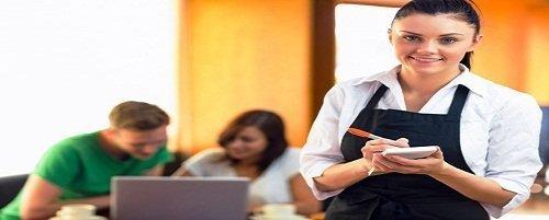 waitress job description