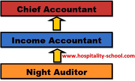 organization chart night auditor