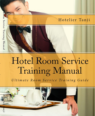 hotel room service training manual