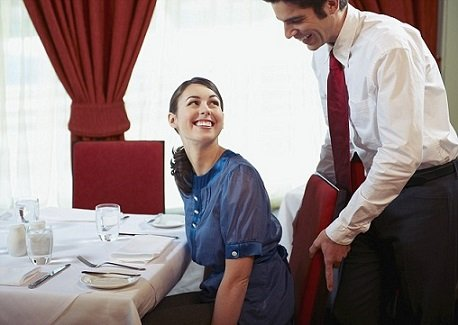 How seat guest at restaurant
