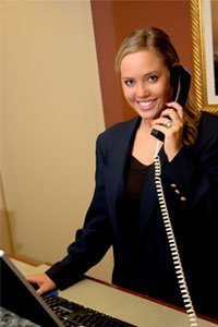 hotel telephone operator job