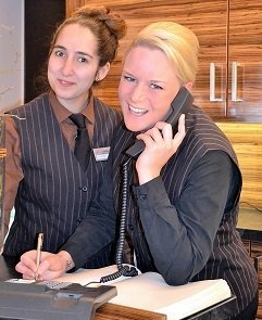 hotel telephone operator job description