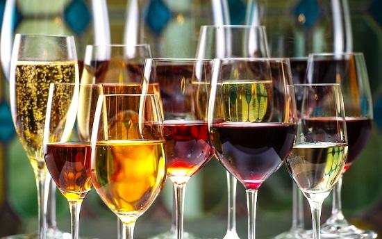 non alcoholic wine type
